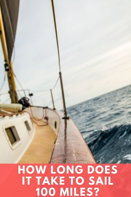 how long to sail 100 miles